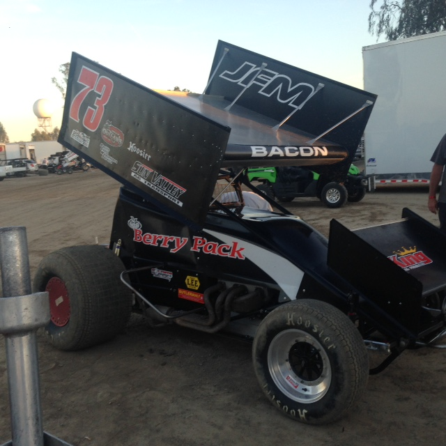 Brady Bacon - 73 Winged in Hanford