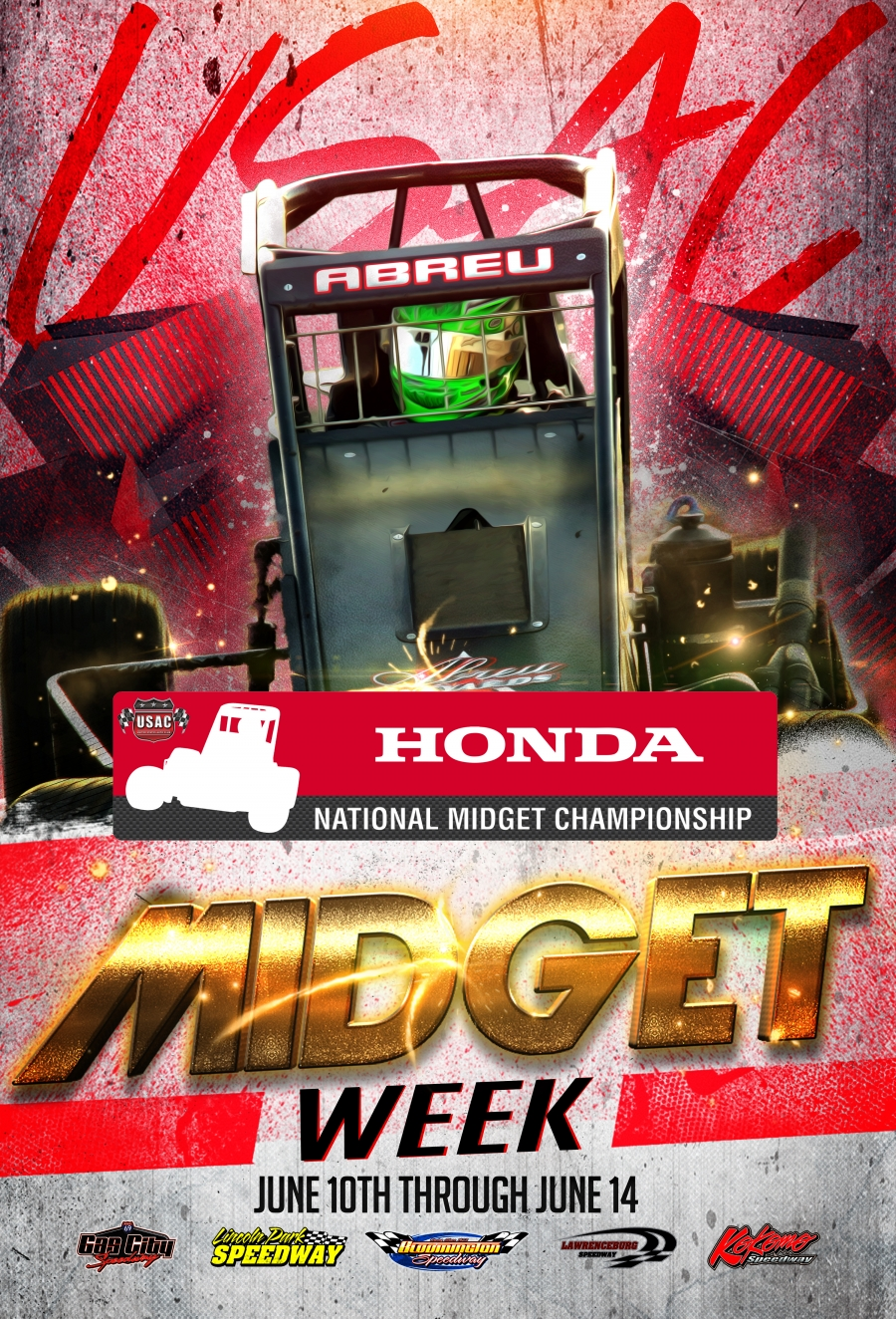 Indiana Midget Week Flyer