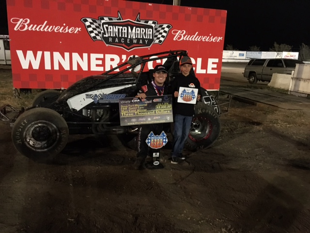 Ryan Bernal Winners Circle Santa Maria 7-1-16
