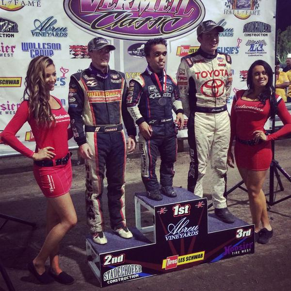 Kevin Thomas Jr takes second in Calistoga