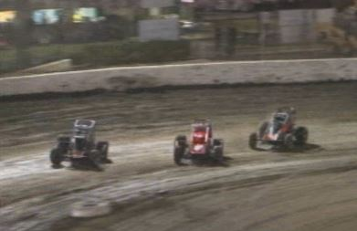 Bakersfield Speedway - Faas 2nd and Niemela 3rd